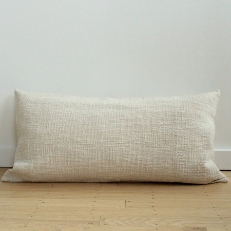 Anara Ecru Lumbar Pillow