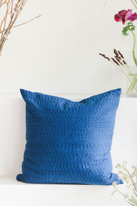 Anara Umbra Throw Pillow - Indigo