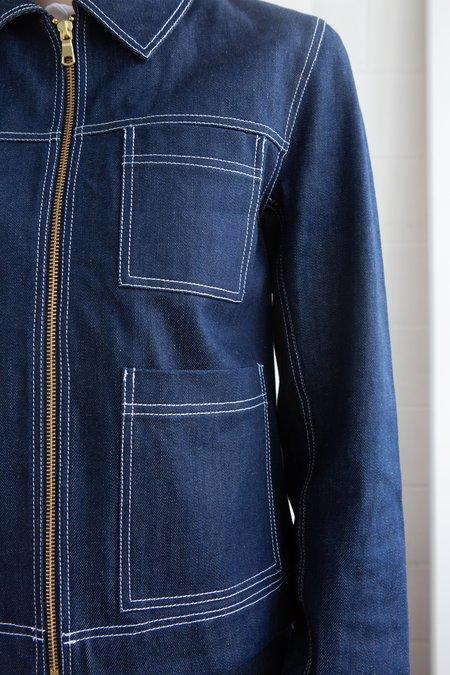 Bonnie Fechter Munroe Jacket - Indigo