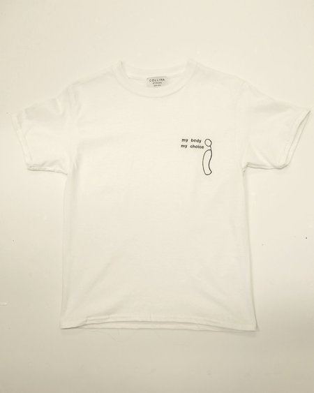 Collina Strada My Body My Choice Tee - White