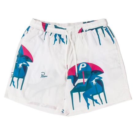 by Parra Monaco Summer Trunks - Off White