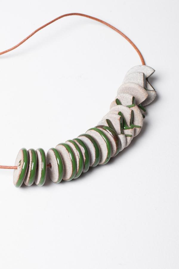 Jujumade Sliced Cluster Necklace