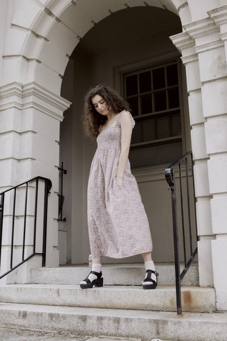 Lacausa Sycamore Dress -  paisley floral