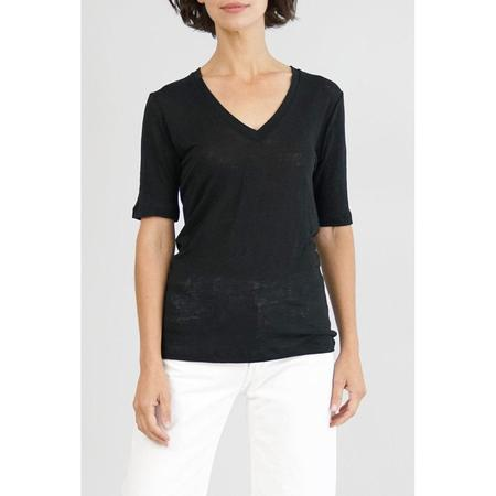 Emerson Fry Linen Luxe Emerson T - Black