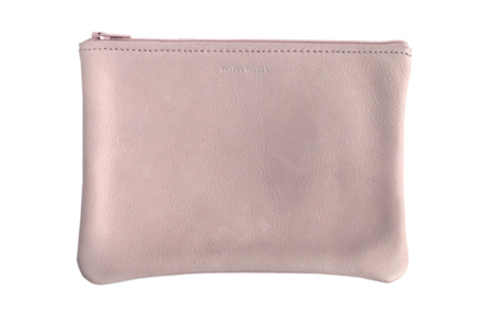 Tracey Tanner Medium Flat Pouch - Nude
