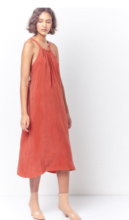 Corey Lynn Calter Daisy Drawstring Dress - Grenadine