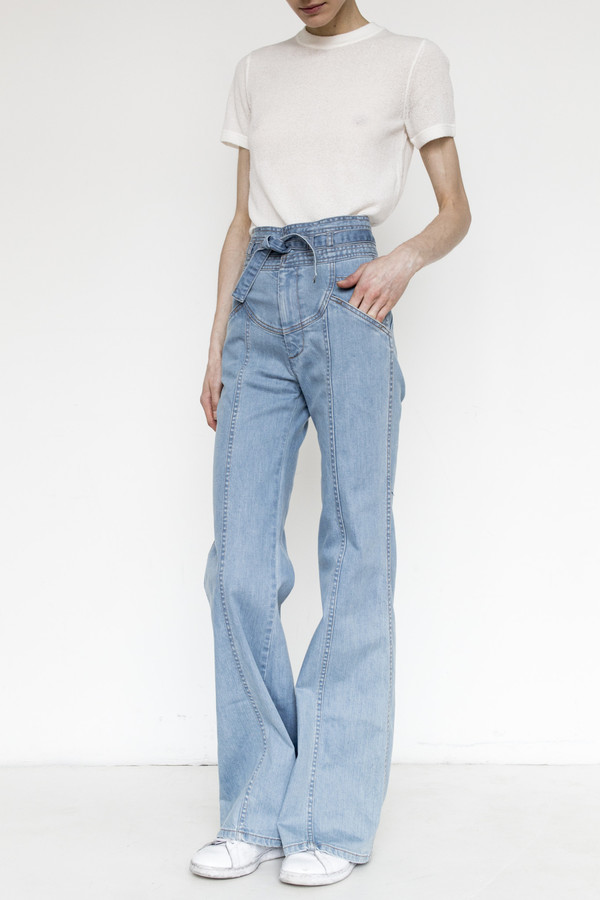 Stoned Immaculate Denim Waiting For the Sun Jean - Light