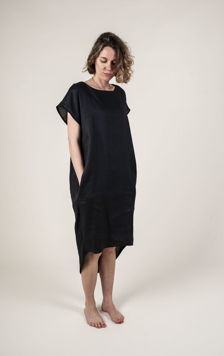FOLD The Azra Dress - Black