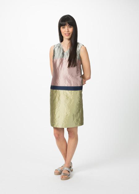 Odeeh Sleeveless Colorblock Dress