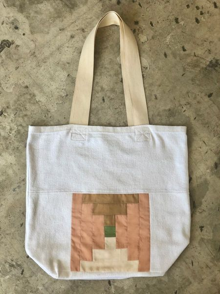 Burke Mercantile Recycled Tote Bag - Natural