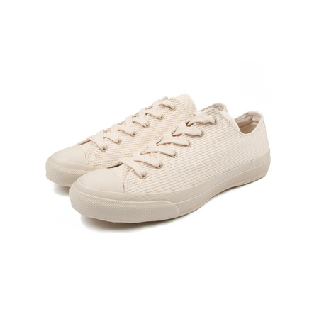 NAKED AND FAMOUS JAPAN SNEAKER LOW - NATUREL
