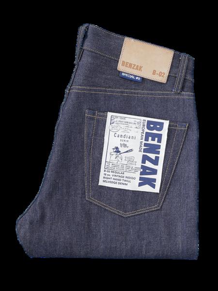 Benzak B-02Regular Fit Vintage Selvedge Jeans