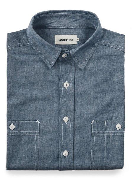 Taylor Stitch California Chambray Shirt - Blue