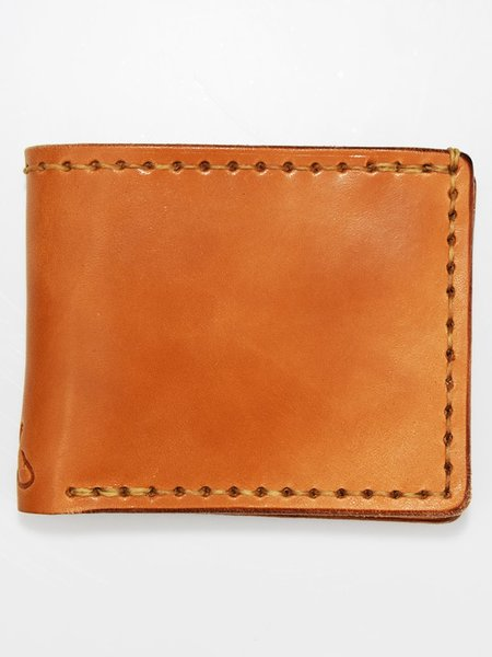 Corter Leather Classic Bifold - Saddle Tan