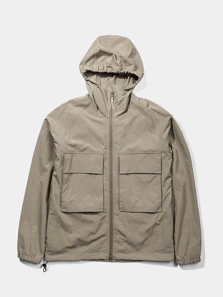 Native North Hooded Windbreaker Jacket - Brown
