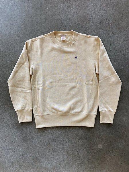 Champion Premium Reverse Weave Crewneck Sweatshirt - Wheat