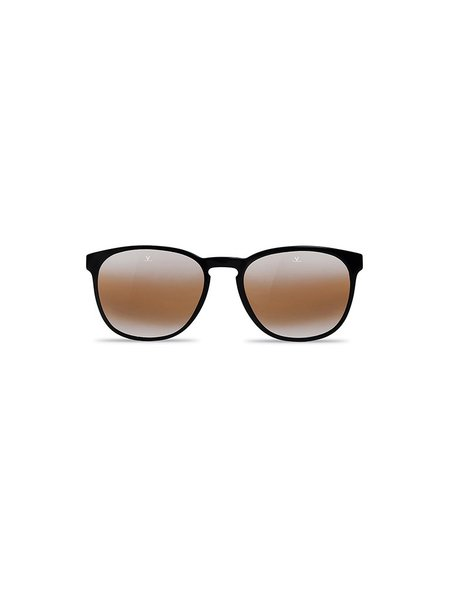 Vuarnet Round Medium District - Black, Clear & Tortoise Frame