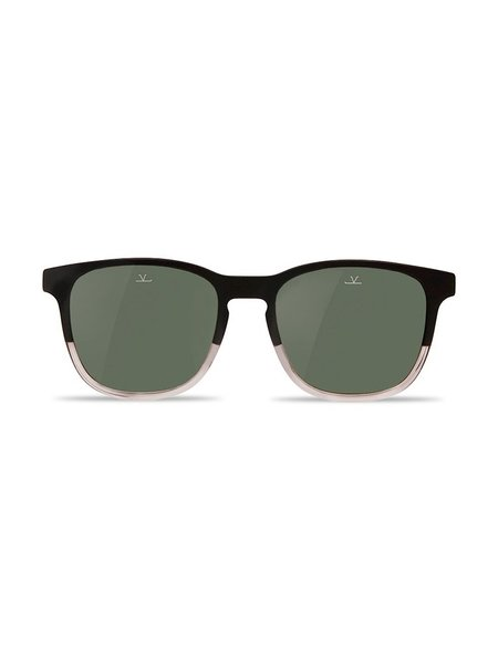 Vuarnet Square District - Matte Black & Transparent Frame