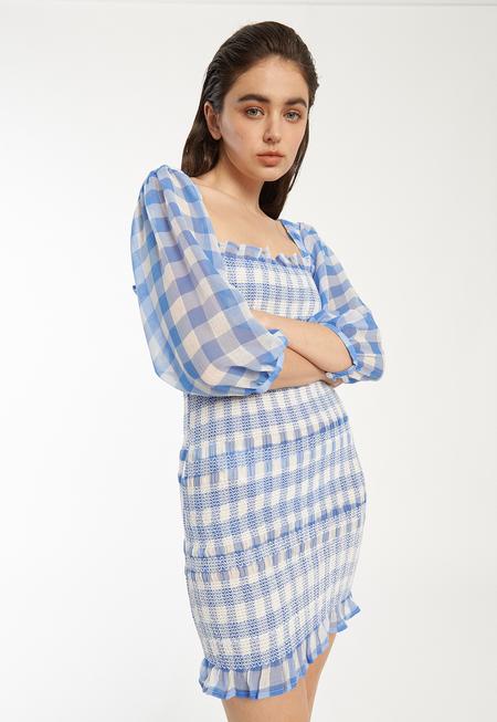 Capulet Siobhan Dress - Blue Gingham
