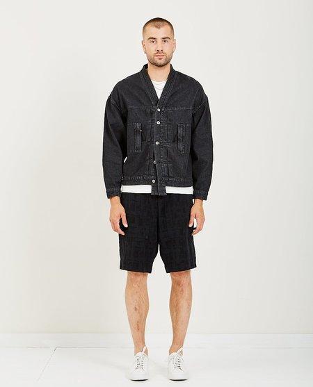 Candor Kimono Denim Jacket - black
