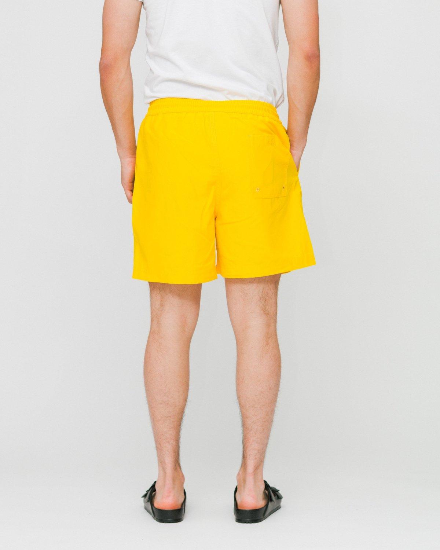 fd105156a6 CARHARTT WIP Chase Swim Trunks - Primula/Gold   Garmentory