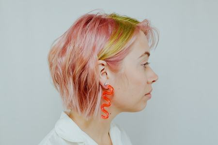 Wasted Effort spanish dancer earrings