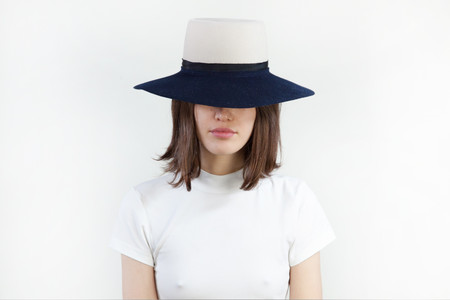 Clyde Two Tone Gaucho Hat