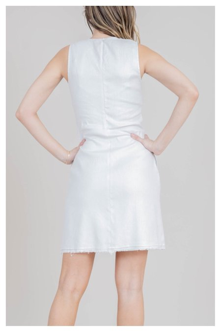Mabel and Moss Arial Shift Dress - Frost