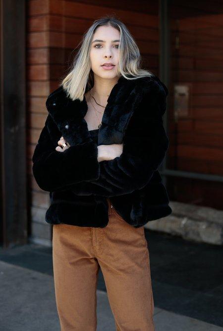 APPARIS Goldie Hooded Jacket - Ivory