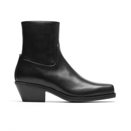 MISBHV Iggy Cowboy Ankle Boots - Black