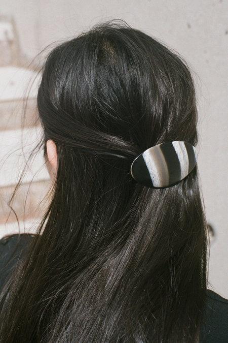 Vintage Forme & Sens Barrette - Stripe