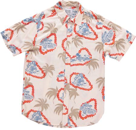 Dushyant Asthana The Tokyo Shirt - Off-White Floral Print