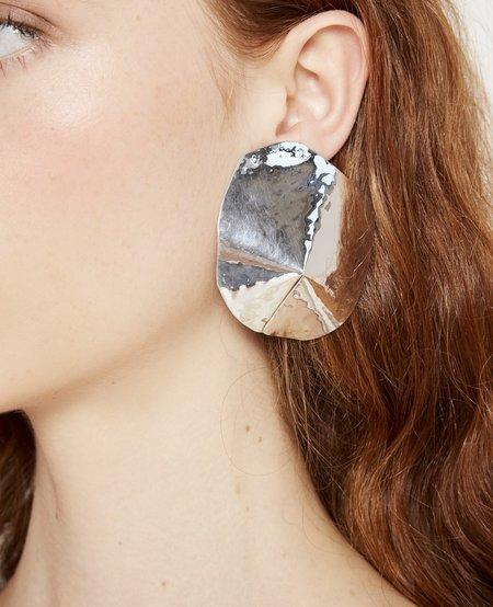 Julie Thévenot Araped Earrings - Silver