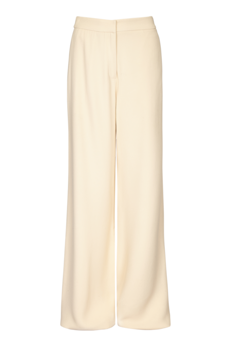 Arje Franci Tailored Crepe Trouser - Vanilla