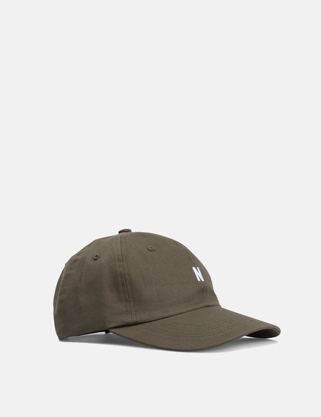 00c9a1827e2845 ... Norse Projects Twill Sports Cap - Ivy Green