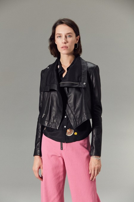 cd5795b3a5fb Veda Maximus Leather Jacket Veda Maximus Leather Jacket