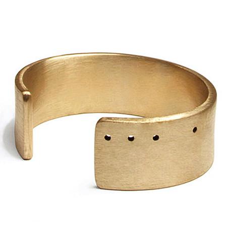 Marmol Radziner standard natural bronze cuff