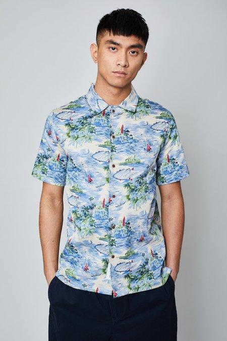 Native Youth Flash Shirt - Hawaiian print