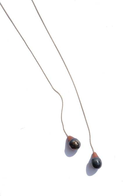 jujumade droplet necklace