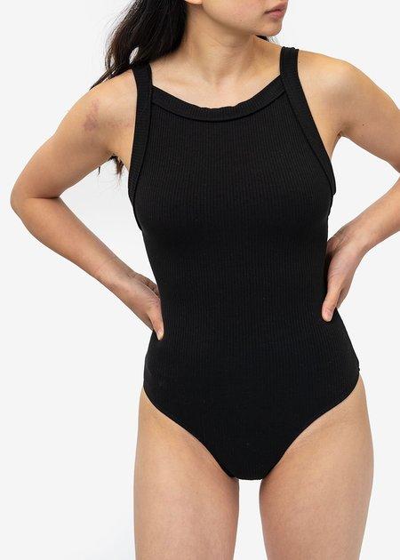 Angie Bauer Black Holland Bodysuit - Black