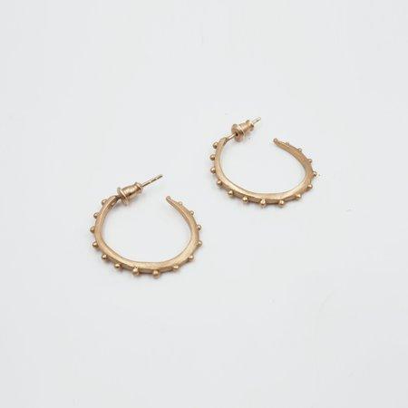 Gece Gece Janis Hoop Earrings