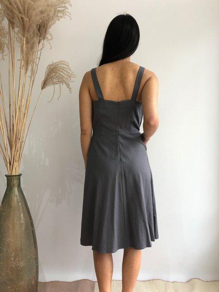 Dagg & Stacey ELERI DRESS - SLATE