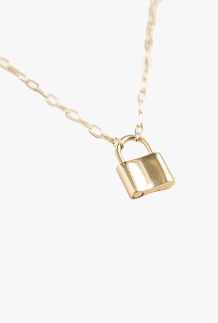 Merewif Holmes Padlock Necklace