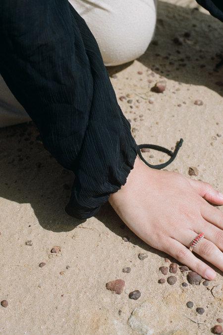 Forme & Sens Zuni Ring - Coral