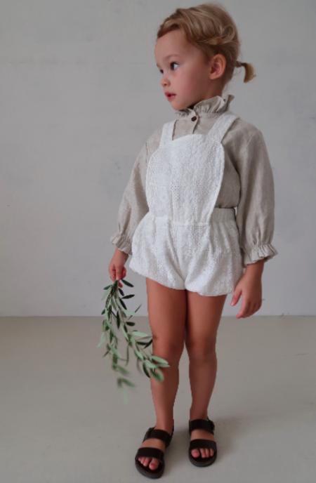 Kids House of Paloma Anais Playsuit - Picnic Lace