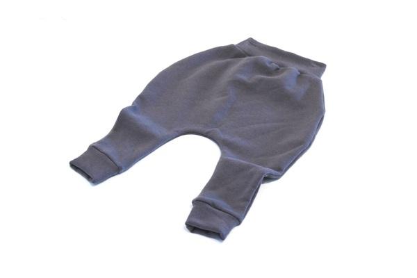 MeAndReekie Grey Fleece Drop Crotch Pant