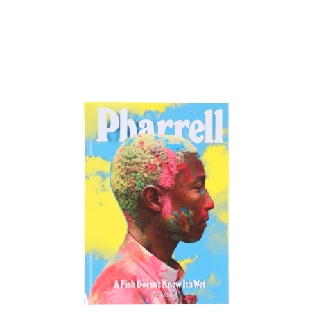 """Rizzoli New York """"Pharrell: A Fish Doesn't Know It's Wet"""" Book"""