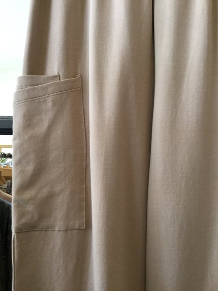 Iridium Knit Side Pocket Pant - khaki