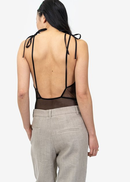 Angie Bauer Georgia Bodysuit - black