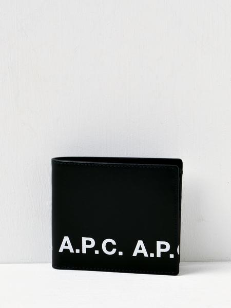 A.P.C. Portefeuille Aly Logo Wallet